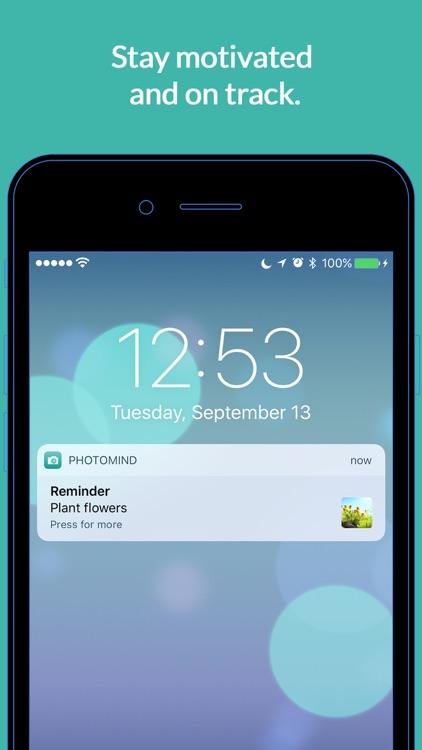 PhotoMind - Simple. Photo. Reminders. screenshot-4