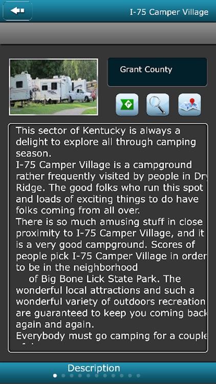 Kentucky Campgrounds