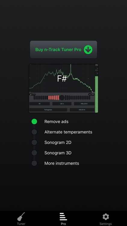 n-Track Tuner free: tune your guitar,bass,ukulele screenshot-4