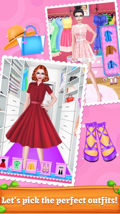 Beauty Fashion: Lipstick Maker - Design own Makeup screenshot-3