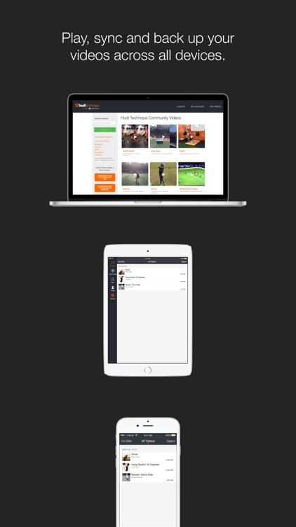 Hudl Technique: Slow Motion Video Analysis screenshot-3