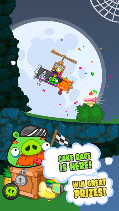 Screenshots of Bad Piggies for iPhone