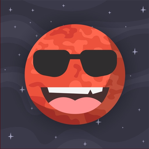 Fly to Mars! - Stickers for iMessage