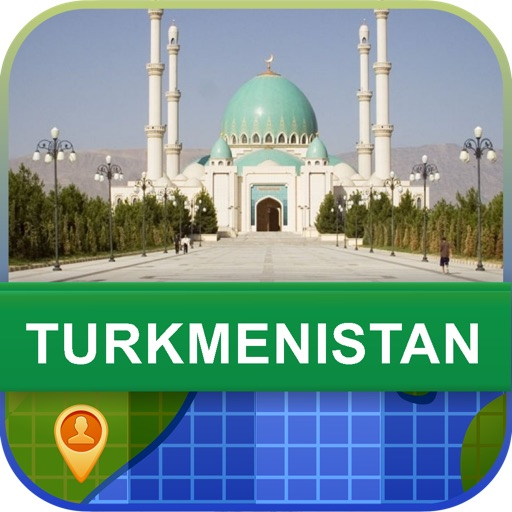 Offline Turkmenistan Map - World Offline Maps icon