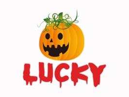 Lucky Halloween Stickers for iMessage