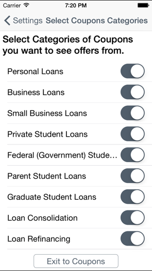 Parent Student Loans >> Loan Student Loan Coupons Mortgage Coupons In De App Store