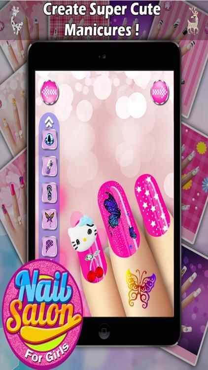 Nail Salon For Girls - Virtual Nail Art For Free