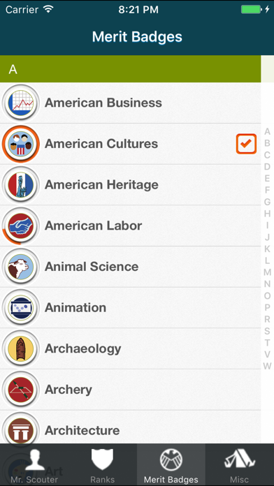 The Scout App for boys in Boy Scouts of America screenshot one