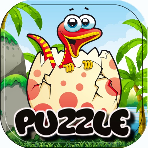 Easy Solve Dinosaur Jigsaw Puzzle Games for Adults