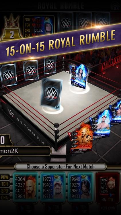 WWE SuperCard: Wrestling Action & Card Battle Game screenshot-4
