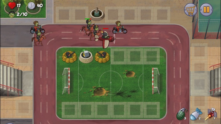 Zombie Town Defense