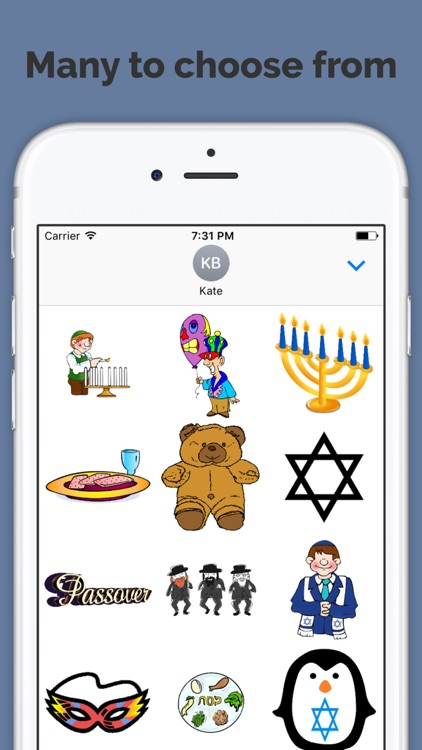 Jewish Holiday Sticker Pack