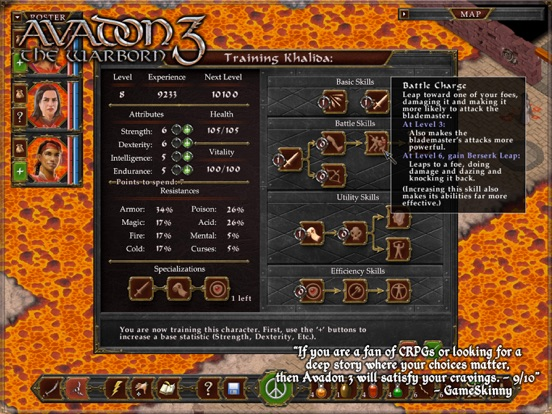 Screenshot #5 for Avadon 3: The Warborn HD