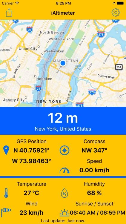 iAltimeter Pro GPS Tool