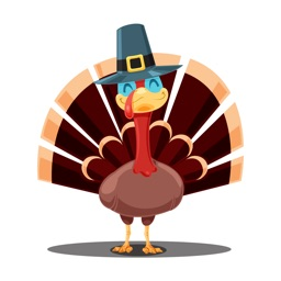 TurkeyMoji - Thanksgiving stickers for iMessage