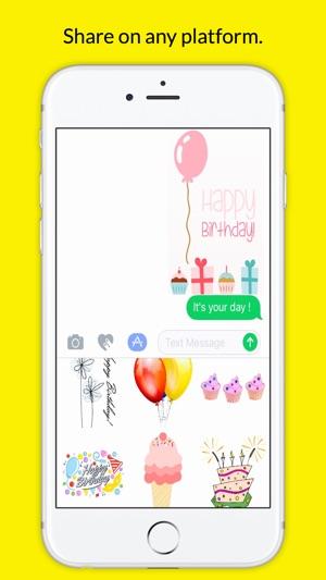 BirthdayMojis Emoji Keyboard App 4