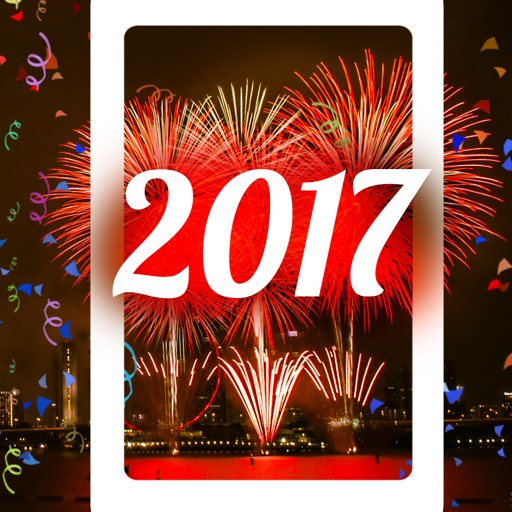 2017 Happy New Year - Fireworks Wallpapers
