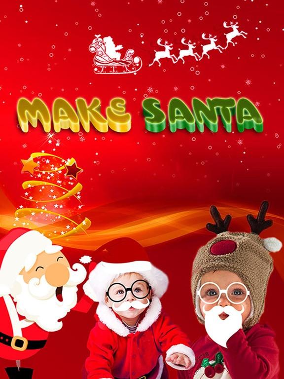 screenshot 1 for make santa claus father christmas photo editor