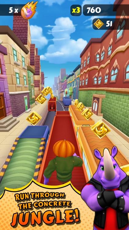 Rhinbo - Endless Runner Game screenshot-3