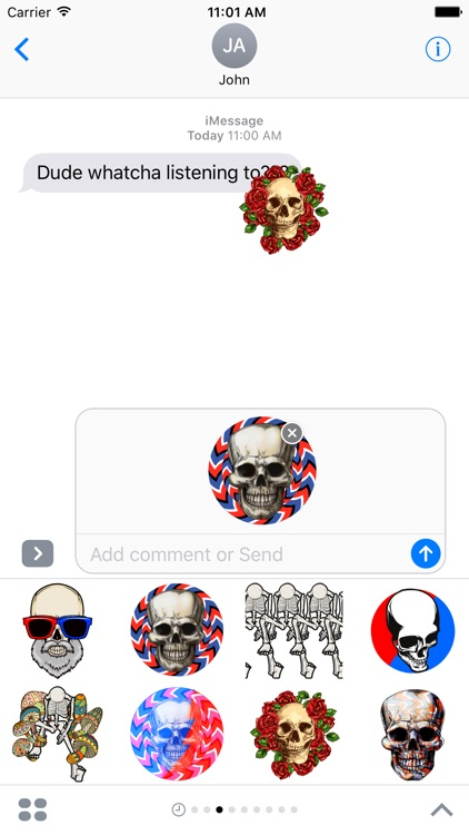 Dead Stickers