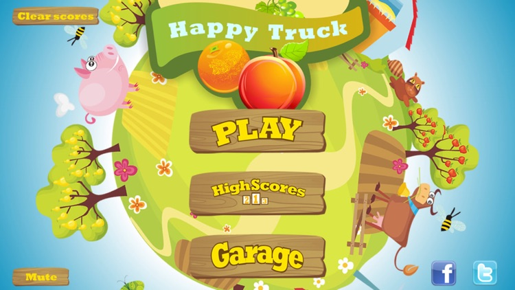 HappyTruck -- Fruit Express screenshot-3