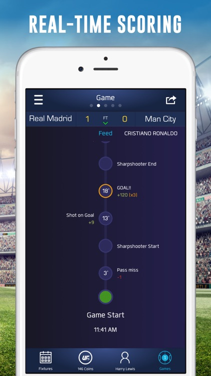 UFL - Real-time Fantasy Soccer screenshot-3