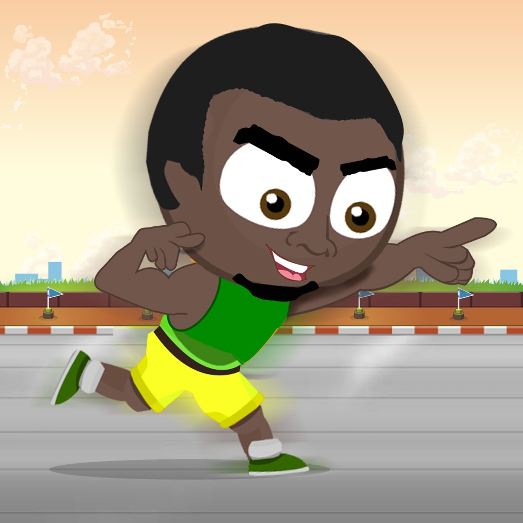 Athletic Rio Summer Sports 2016: Bolt Run & Sprint Towards Finish Line For Gold Medal hack