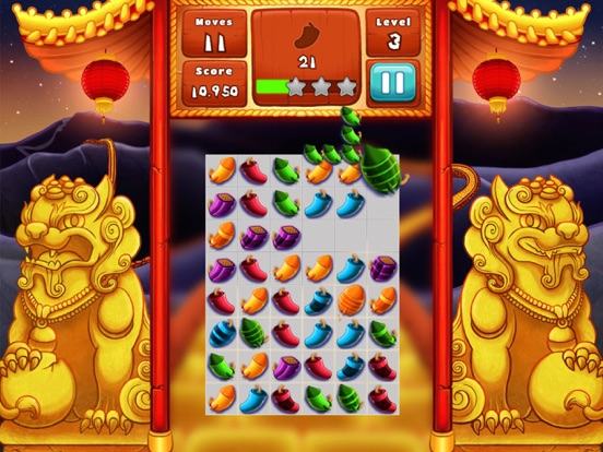 The Lion Dance Match The Fire Crackers Puzzle-ipad-4