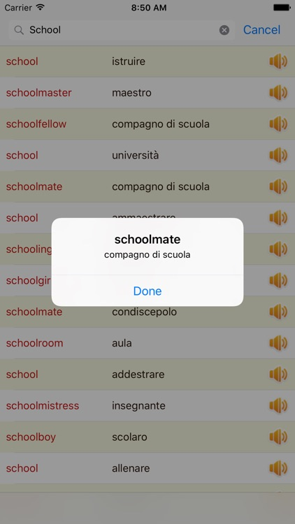 English Italian Dictionary Offline Free screenshot-1