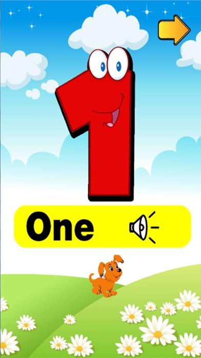 學號1到100 - 免費教育遊戲為孩子和幼兒屏幕截圖2