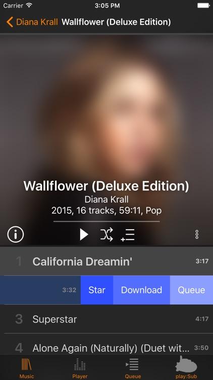 play:Sub — Subsonic Music Streamer screenshot-3