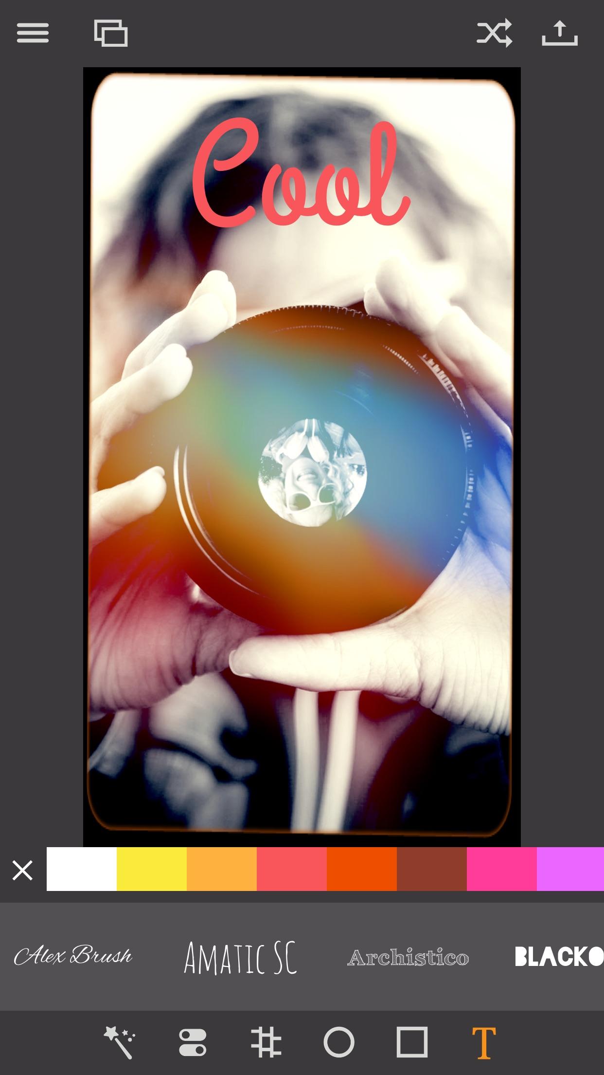 Screenshot do app Pixagram