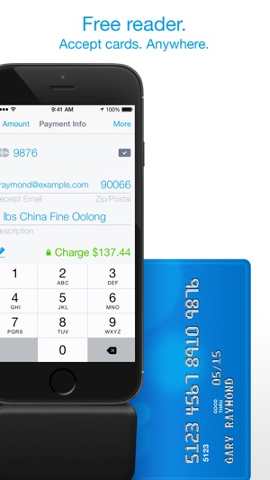 Credit card terminal reader on the app store iphone ipad reheart Choice Image