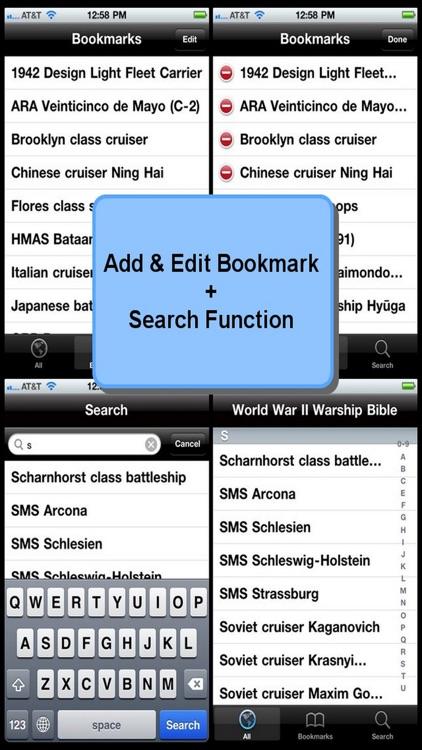 World War II Warship Bible screenshot-3