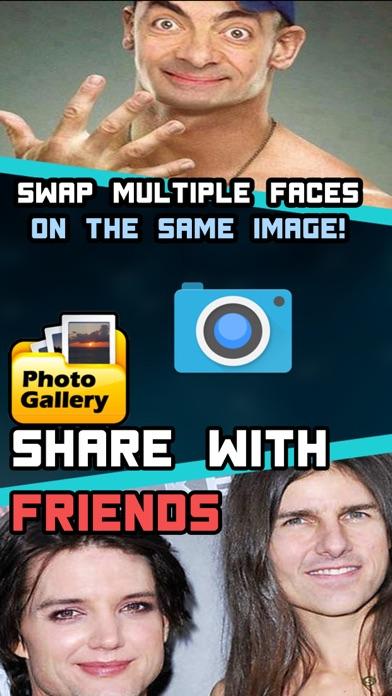 Face swap - Famous edition multi face swap Screenshots