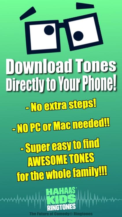 Kids Ringtones - Comedy Ringtones (Free Tones)