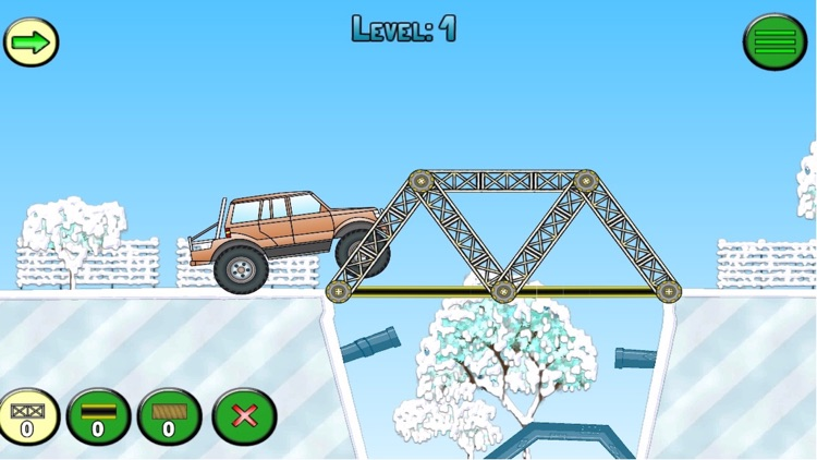 Frozen bridges - Bridge construction simulator
