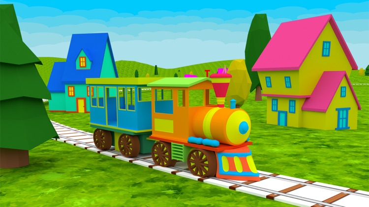 Learn ABC Alphabet For Kids - Play Fun Train Game