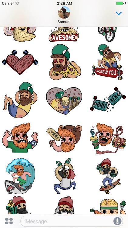 BRDD Stickers