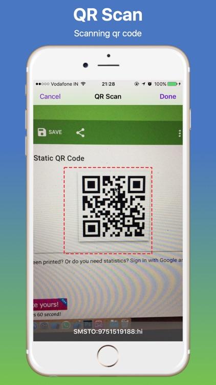 QRScanning and Generator screenshot-3