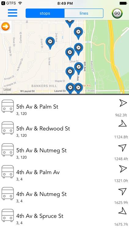 San Diego Public Transport screenshot-3