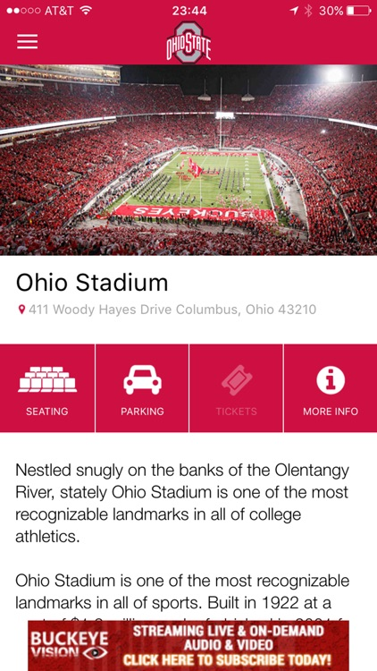Ohio State Buckeyes Gameday LIVE screenshot-3