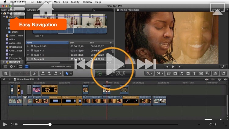 Course For Final Cut Pro X - Exporting and Sharing screenshot-3