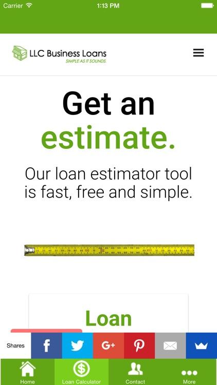 LLC Business Loans screenshot-3