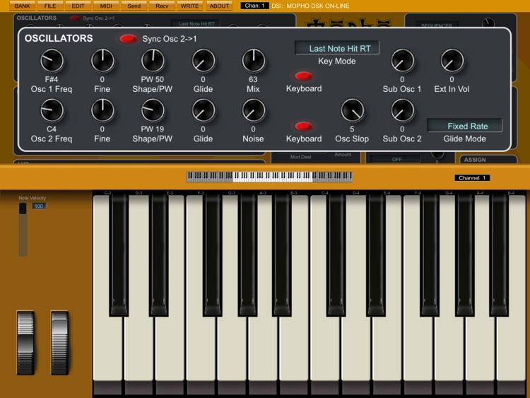 Mopho Desktop Sound Editor