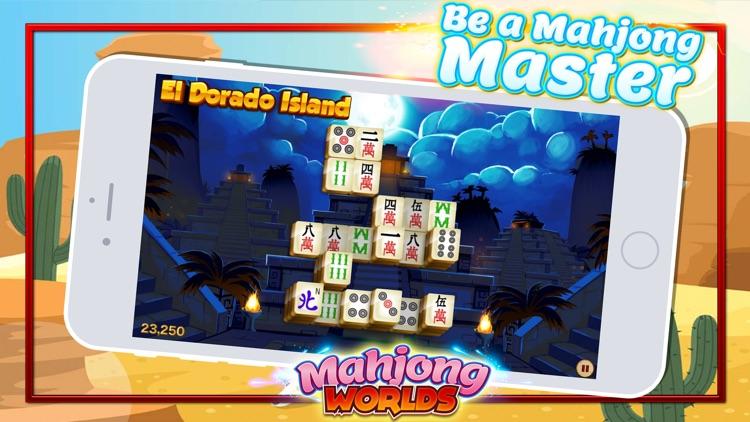 Mahjong Worlds - Tiles Puzzle screenshot-0