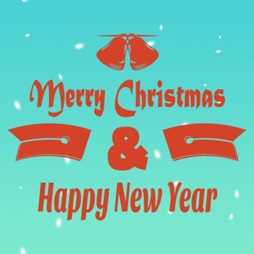 Merry Christmas Wishes Sticker
