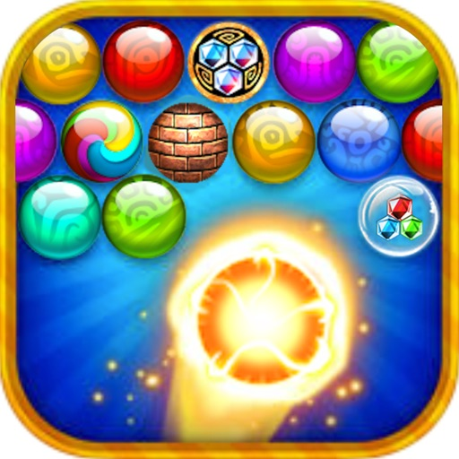 bubble maya slots shooter - shoot pop games iOS App