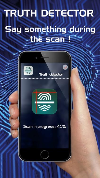 Lie Detector - Truth Detector Fake Test Prank App