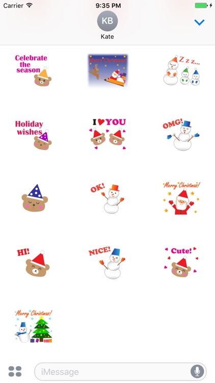 Pleasant Santa Claus Sticker screenshot-3